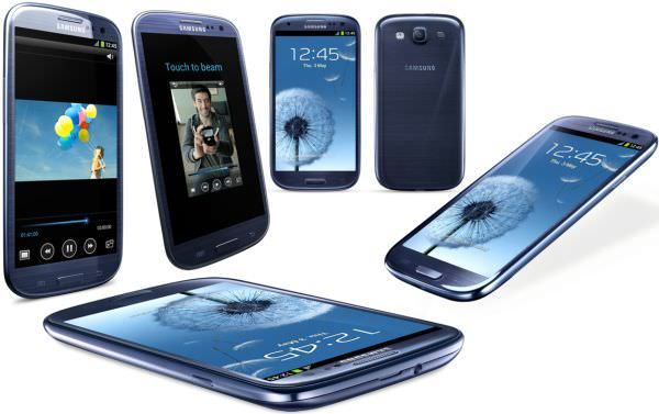 European Mobile Phone Samsung Galaxy S III