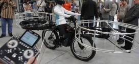 bicicleta zburătoare