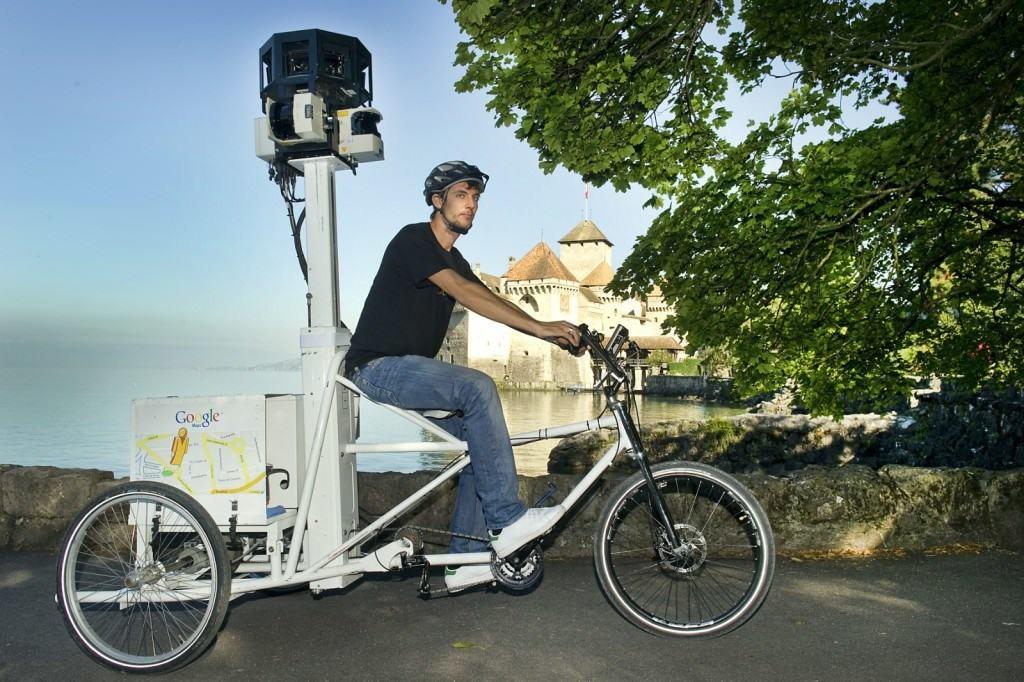 Trike Google Street View
