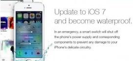 farsă iOS 7
