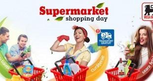 supermarket shopping day