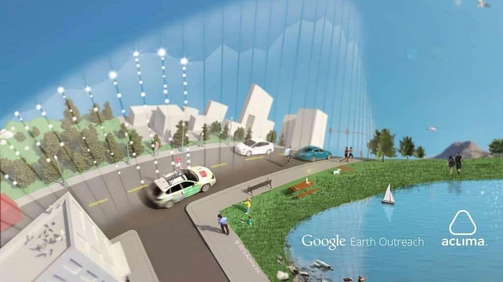 google stree view furnizează informații legate de poluare