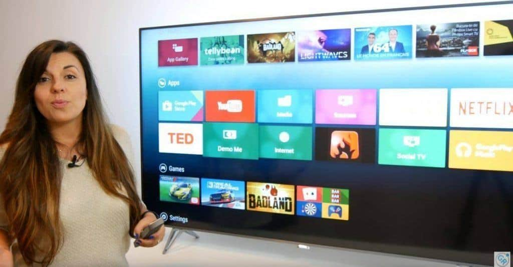 Android pe SmartTV Philips 65PUS7601/12