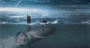 Dronă-submarin-rusească