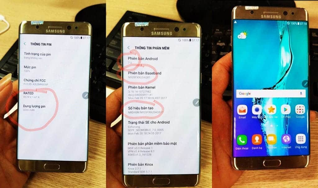 note 7 recondiționat