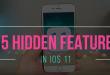75 de funcții al lui iOS 11