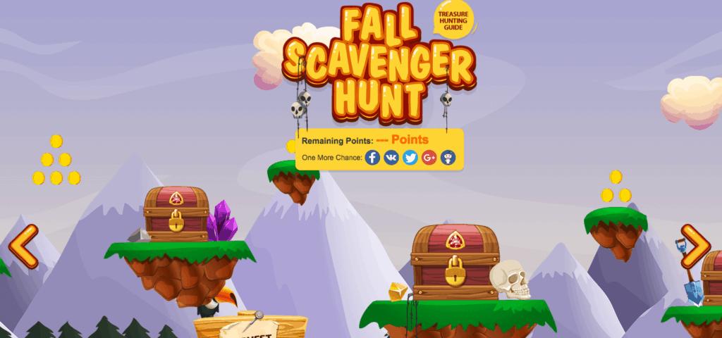 Fall Scavenger Hunt