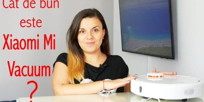 Xiaomi Mi Vacuum – cât de eficient este robotul de aspirare???