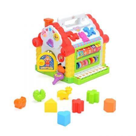Mappy Toys Casuta cu forme, lumini si sunete