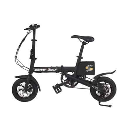 Bicicleta electrica pliabila DAT EV Black Edition by MonkeyBoard